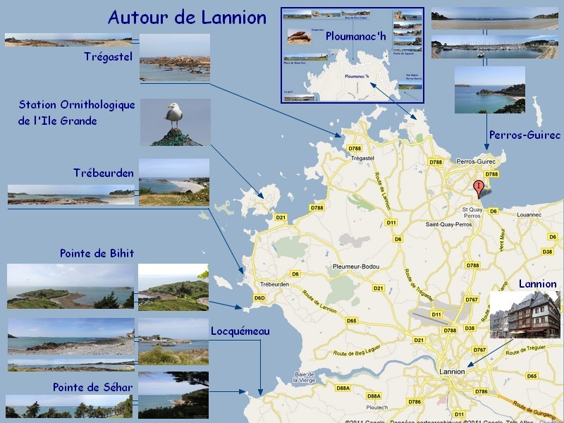 Visites autour de lannion dans les cotes d 39 armor en bretagne - Comptoir metallurgique de bretagne lannion ...